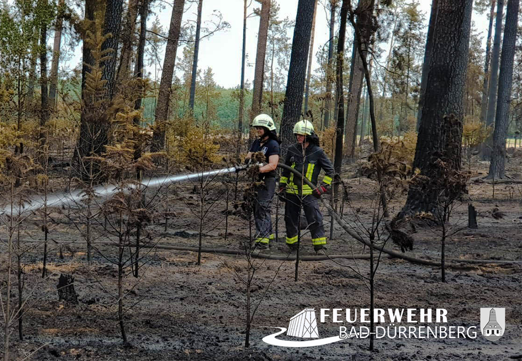 Feuer in bad dürrenberg